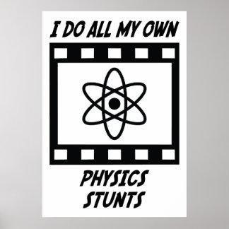 Physics Stunts Poster