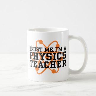 Physics Teacher Basic White Mug