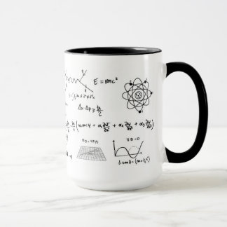 Physics you formulate and diagrams Coffe Mug