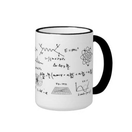 Physics you formulate and diagrams Coffe Mug