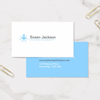 Physiotherapy Business Card