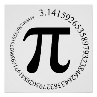 Pi π Day Poster