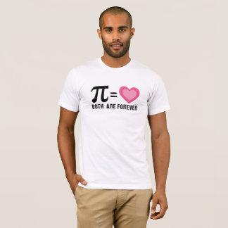 Pi 2018 Math Love Both Are Forever Nerd Merch T-Shirt