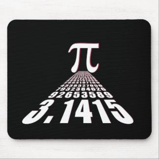 Pi, 3.141592653 mouse pad