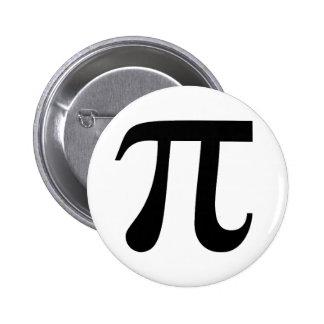 Pi 6 Cm Round Badge