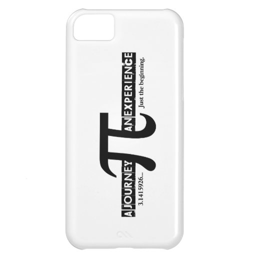 Pi: A Journey. An Experience. iPhone 5C Cases