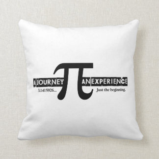 Pi: A Journey. An Experience Cushion