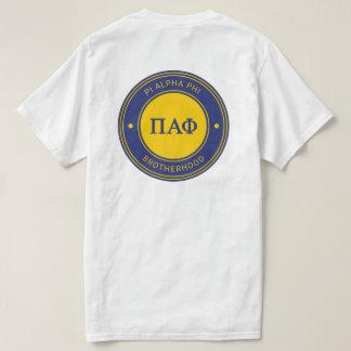 Pi Alpha Phi   Badge T-Shirt