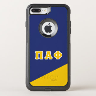 Pi Alpha Phi | Greek Letters OtterBox Commuter iPhone 8 Plus/7 Plus Case
