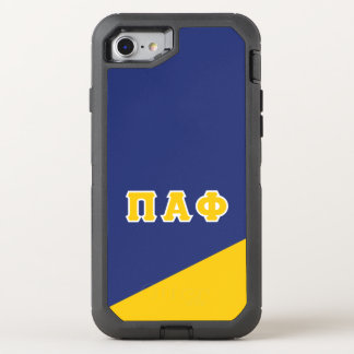 Pi Alpha Phi | Greek Letters OtterBox Defender iPhone 8/7 Case