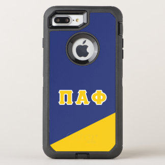 Pi Alpha Phi | Greek Letters OtterBox Defender iPhone 8 Plus/7 Plus Case