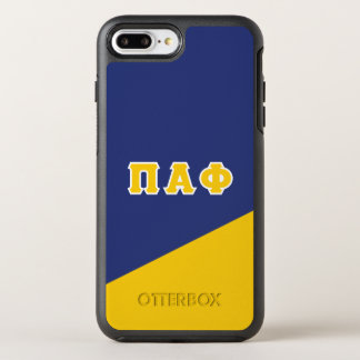 Pi Alpha Phi | Greek Letters OtterBox Symmetry iPhone 8 Plus/7 Plus Case