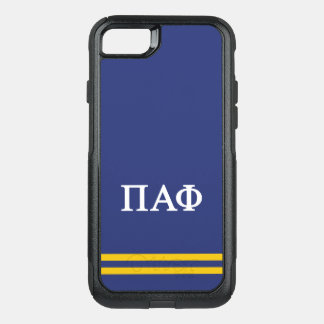 Pi Alpha Phi | Sport Stripe OtterBox Commuter iPhone 8/7 Case