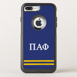 Pi Alpha Phi | Sport Stripe OtterBox Commuter iPhone 8 Plus/7 Plus Case