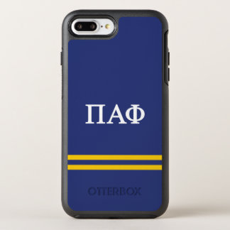 Pi Alpha Phi | Sport Stripe OtterBox Symmetry iPhone 8 Plus/7 Plus Case