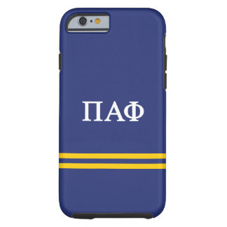 Pi Alpha Phi | Sport Stripe Tough iPhone 6 Case