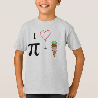 Pi and Ice Cream! T-Shirt