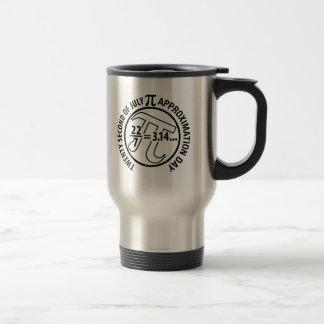 Pi Approximation Day Travel Mug