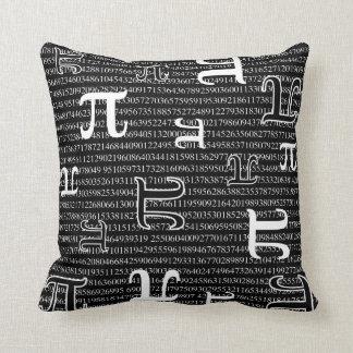 Pi are Square Cushion