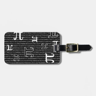 Pi are Square Luggage Tag