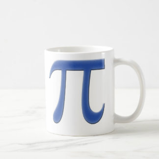Pi Basic White Mug