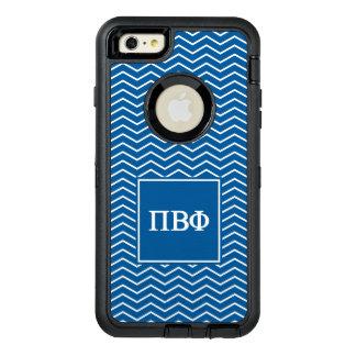 Pi Beta Phi   Chevron Pattern OtterBox Defender iPhone Case