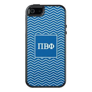 Pi Beta Phi   Chevron Pattern OtterBox iPhone 5/5s/SE Case