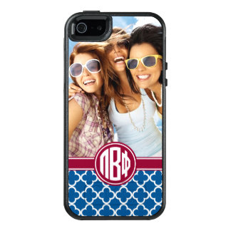 Pi Beta Phi | Monogram and Photo OtterBox iPhone 5/5s/SE Case