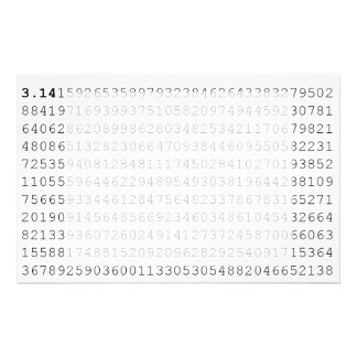 Pi Celebrate 3.14 Pi Day Stationery Design