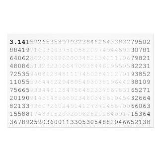 Pi Celebrate 3.14 Pi Day Stationery Design