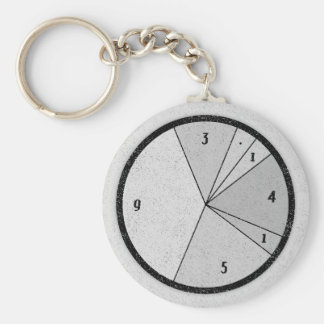 PI Chart Key Ring