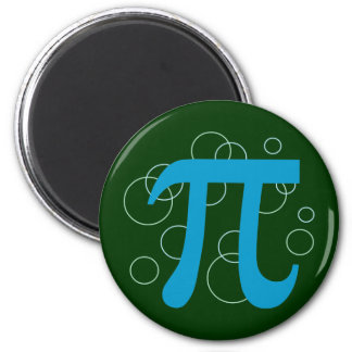 Pi Circles Refrigerator Magnet