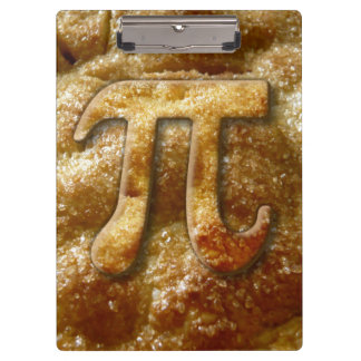 Pi Crust Clipboard