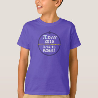 Pi Day 2015: A once-in-a-lifetime moment! Shirt