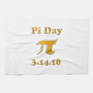 Pi Day 2016 Tea Towel