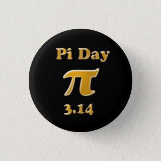 Pi Day 3 Cm Round Badge