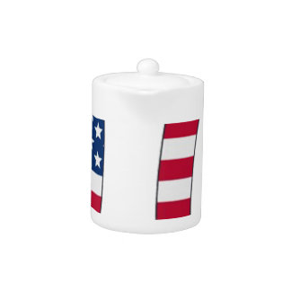 Pi Day American flag, pi symbol