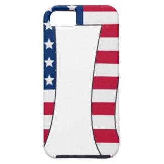 Pi Day American flag, pi symbol iPhone 5 Cases