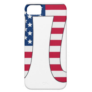 Pi Day American flag, pi symbol iPhone 5 Covers