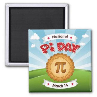 Pi Day, Celebrate Math, Eat Pie! Magnet