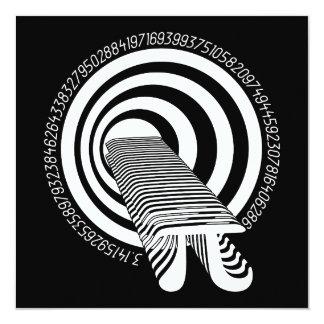 Pi Day Math Geek Infinity Card