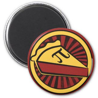 Pi Day Pie 6 Cm Round Magnet