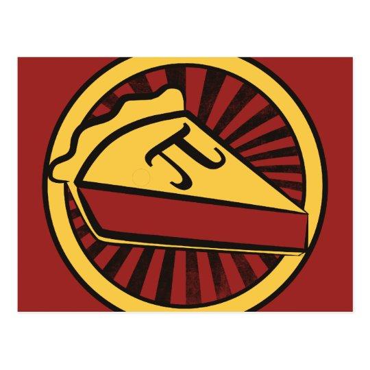 Pi Day Pie Postcard