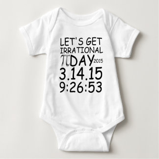 PI DAY.png Baby Bodysuit
