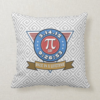 Pi Day Symbol for Math Nerds Pillow