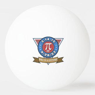 Pi Day Symbol for Math Nerds Ping Pong Ball