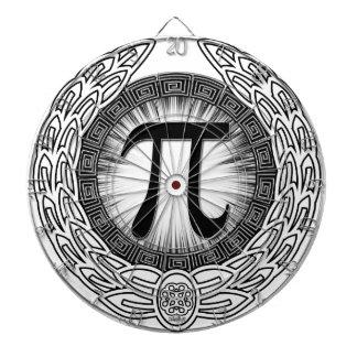 PI Emblem Dartboard