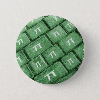Pi Grunge Style Pattern 6 Cm Round Badge