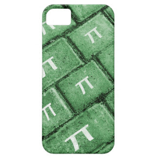 Pi Grunge Style Pattern Case For The iPhone 5