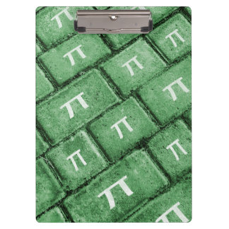 Pi Grunge Style Pattern Clipboard